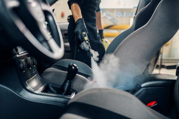 steam cleaning carwash