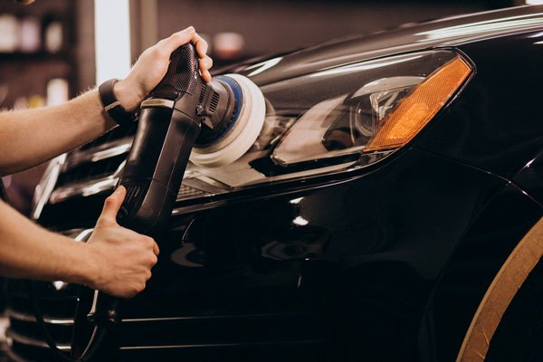 Orbital Polishing car waxing machine